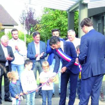 inauguration de l'école maternelle rénovée
